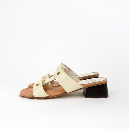 No.6 Beau Ring Sandal - Cream