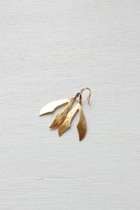 Robin Haley New Open Moroccan Topaz Earrings - White
