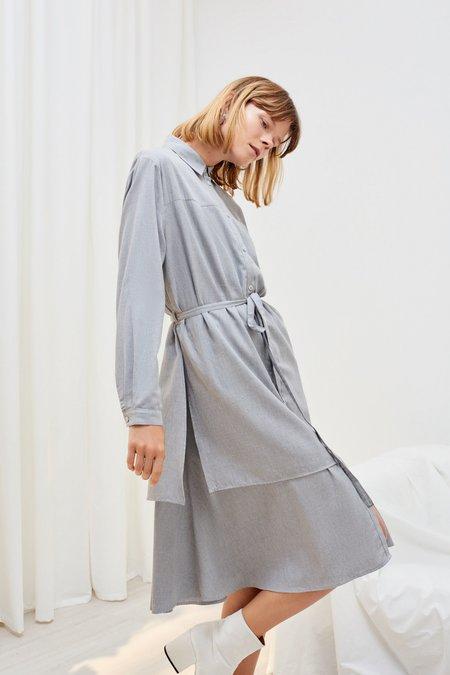 Kowtow Rhyme Dress - Grey Melange