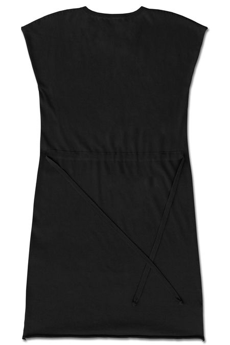 Standard Issue Drawstring Dress - Black