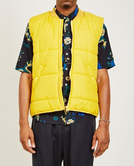A Kind of Guise GORKHA VEST - YELLOW