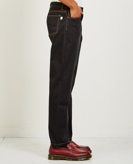 A Kind of Guise ODON WIDE JEANS - WASHED BLACK