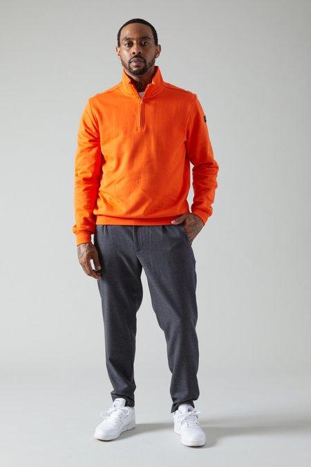 Paul Shark Prange 1/4 Zip Sweatshirt - Orange