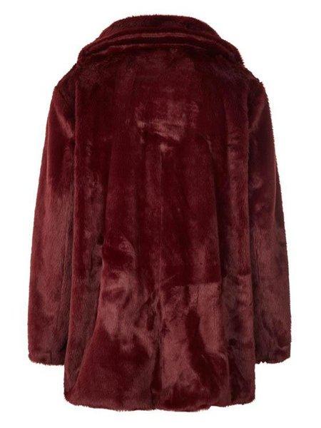 Lolly's Laundry Emma Coat - Bordeaux