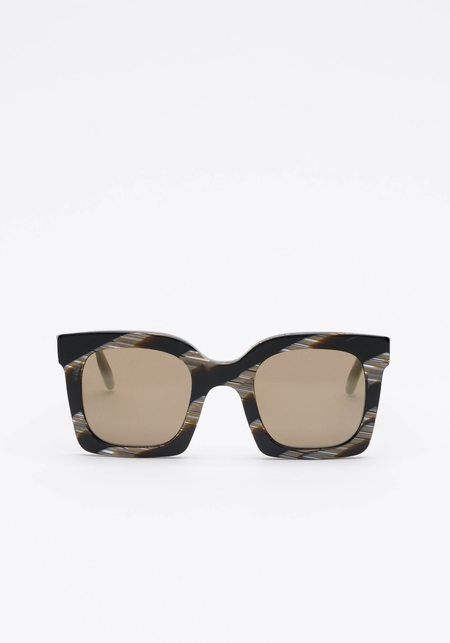 Prism Seattle Sunglasses - Black Horn