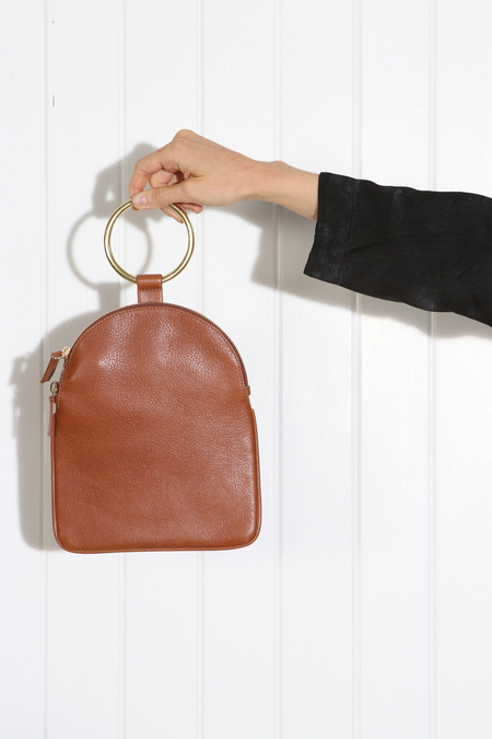 MYERS COLLECTIVE LARGE RING POUCH - RUSSET