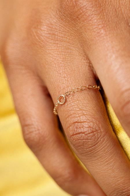 Eyde the lia ring - 14k Gold