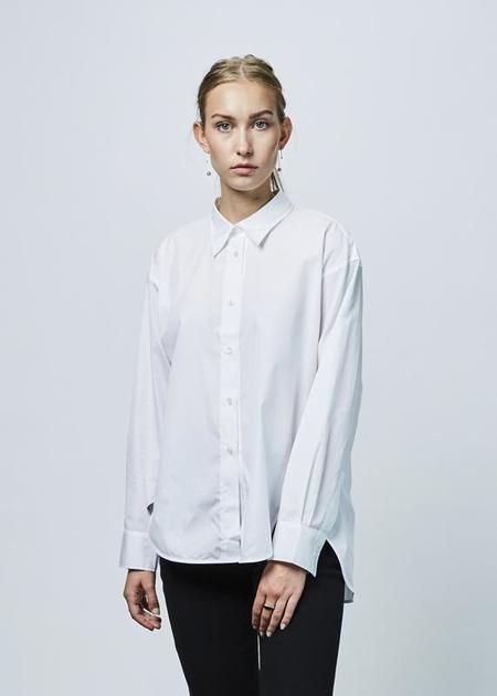 Lareida Allison Hi-Lo Shirt - White