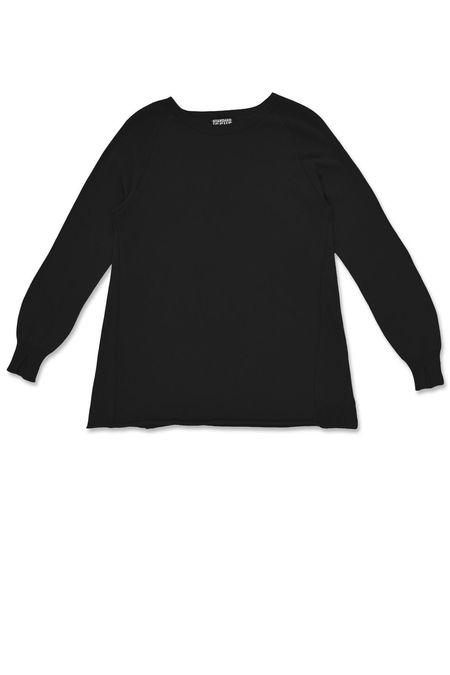 Standard Issue Seamed Sweater - Black