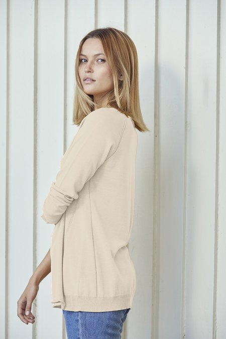Standard Issue Seamed Sweater - Stone