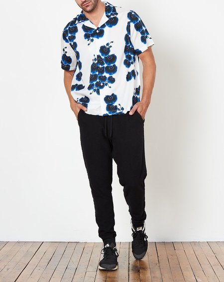 Saturdays NYC Canty Orchid Shirt - White