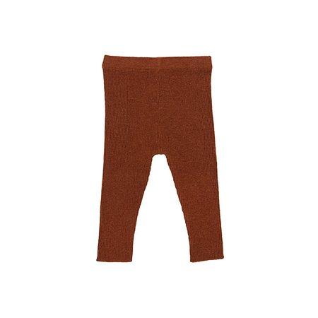 Kids Ketiketa Woolen Legging - Chestnut