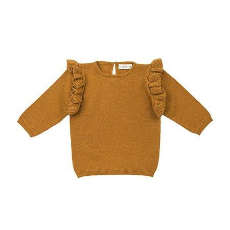 Kids Ketiketa Zoé Baby Sweater - Ochre