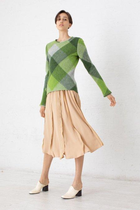 Veronique Leroy Sleeves Top - Multi Green