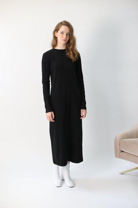 Building Block Rib Long Sleeve Dress