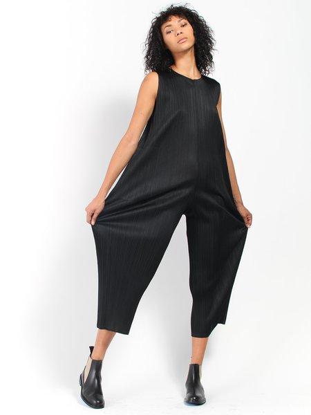 Issey Miyake Pleats Please Pleats Jumpsuit - Black