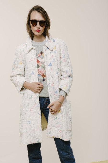 Carleen Half-Square Triangle Quilt Coat