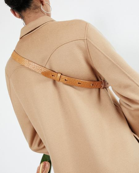 Nanushka LUBO Belt bag - Curry