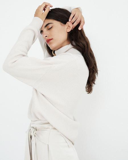 Nanushka Monday Turtleneck Sweater - Ivory