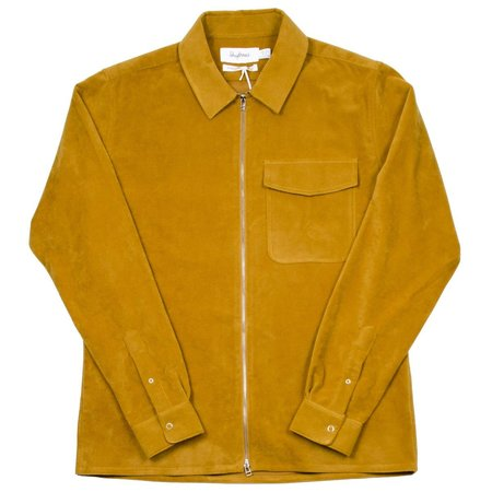 Schnayderman's Zip Moleskine One Shirt - Mustard