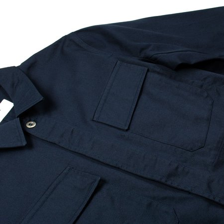 Universal Works MW Chore Twill Overshirt - Navy