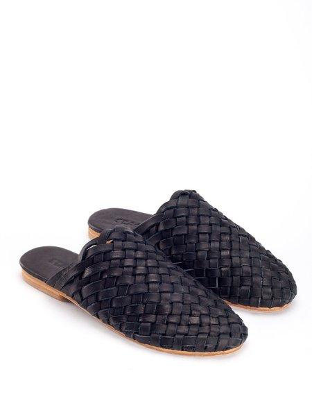 St. Agni Bunto Woven Loafers - Black