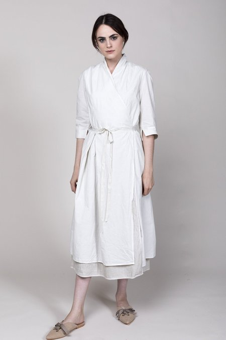 Hannoh Daniela Wrap Dress - Sand