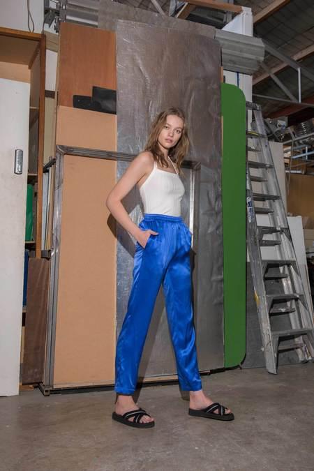 P&V Utopia Silk Pants - Royal Blue