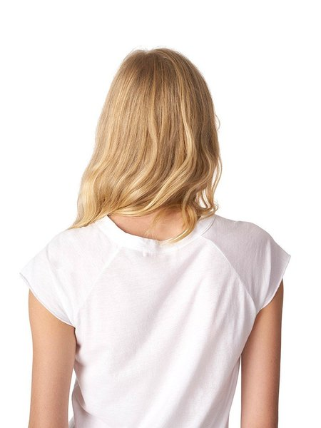 Nili Lotan Short Sleeve Baseball Tee - White