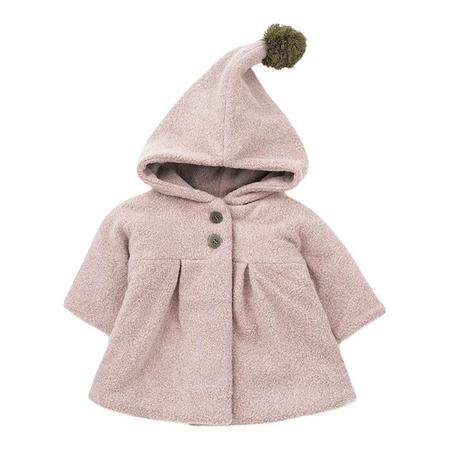 KIDS 1+ In The Family Baby And Child Isabella Jacket - Rose Pink