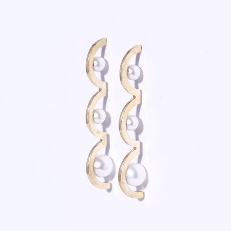 Metalepsis Projects Arco Earrings