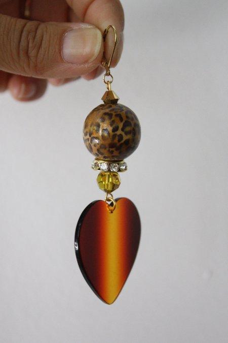 SJO Jewelry Vivienne Heart Earrings