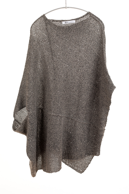 Paychi Guh Panel Coverup - Taupe