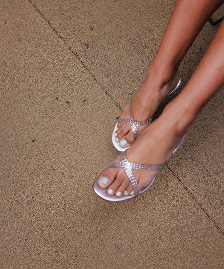 Vintage Crystal Heels