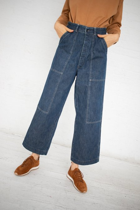 Chimala Double Knee Work Trousers - Used Rinse