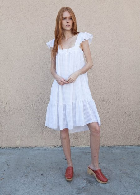 Sasha Darling Melanie Dress - White
