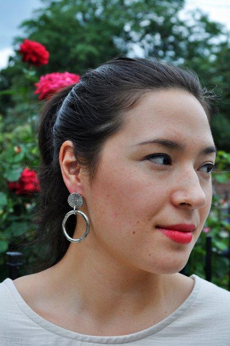 Hawkley Hawkly Cobra Hoop Earrings