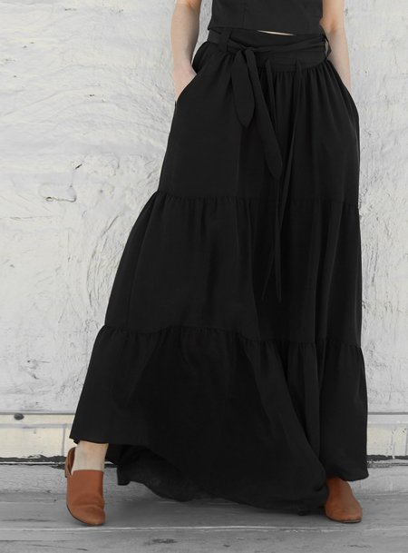 INGA-LENA Radah Skirt - Charcoal