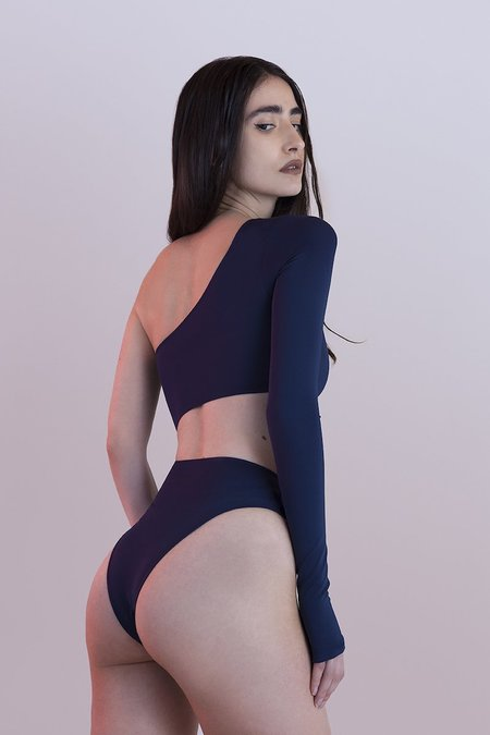 Fantabody Carolina Long sleeve Bodysuit - Blue