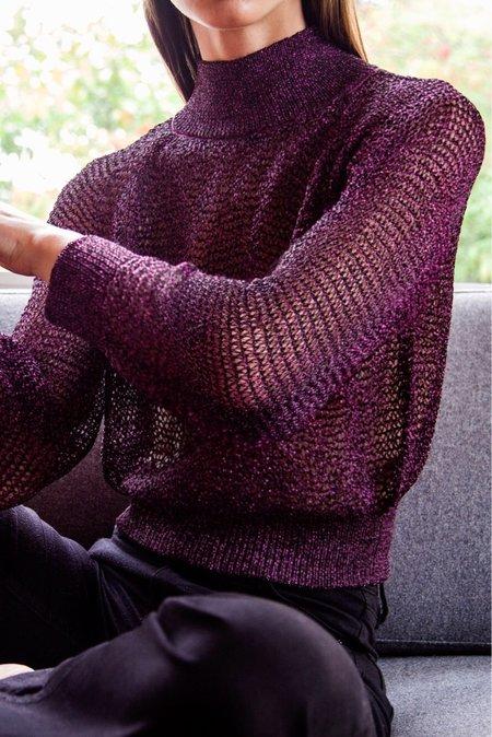 MILA ZOVKO JONI Sweater - Dark Berry