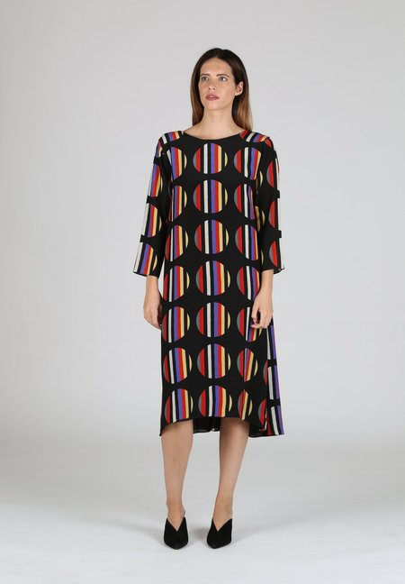 WHiT Pillar Dress - MULTI COLOR