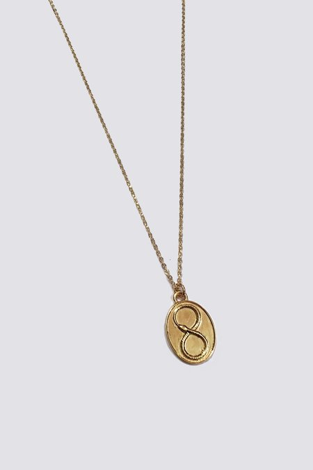 Talon Gold Ouroboros Necklace