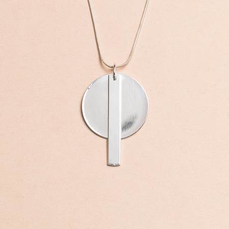 HIGHLOW JEWELRY Redux Necklace - Silver