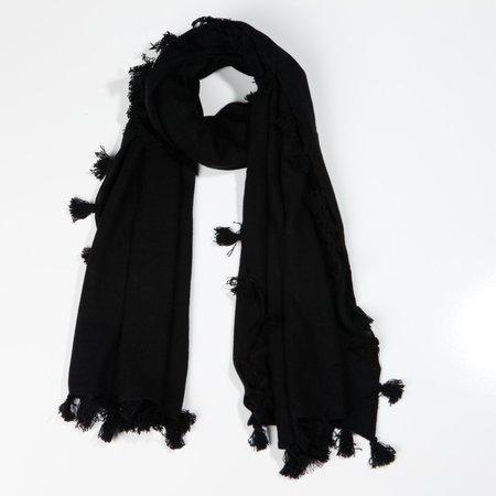 Subtle Luxury Cashmere Scarf - Black