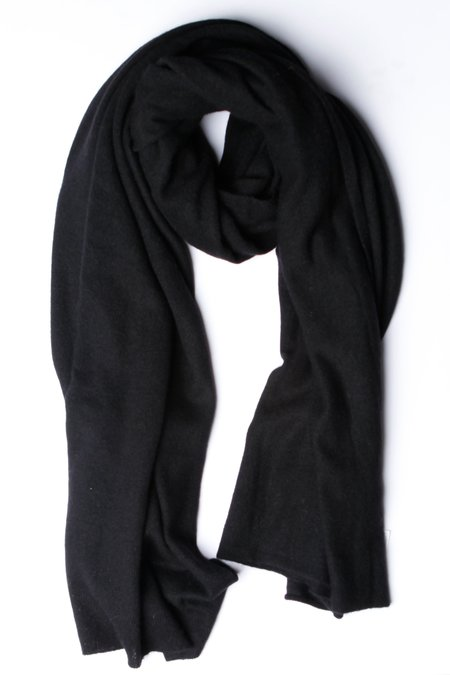 Unisex White + Warren Travel Wrap - Black