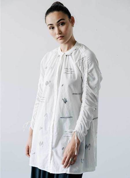 Seek Collective Cy Embroidery Dress - Prints