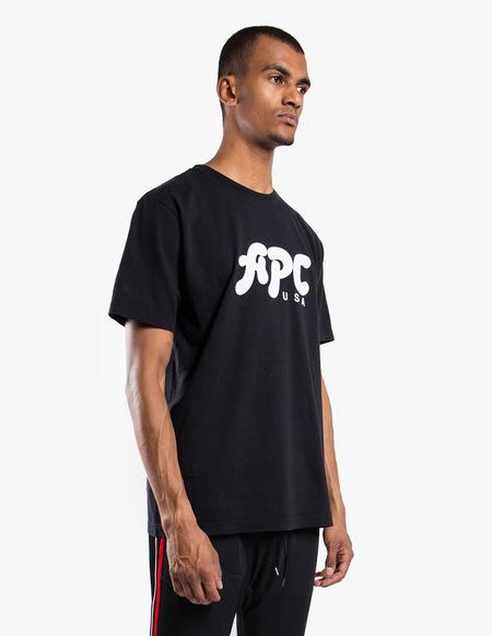 A.P.C. Marky (USA) T-Shirt - black