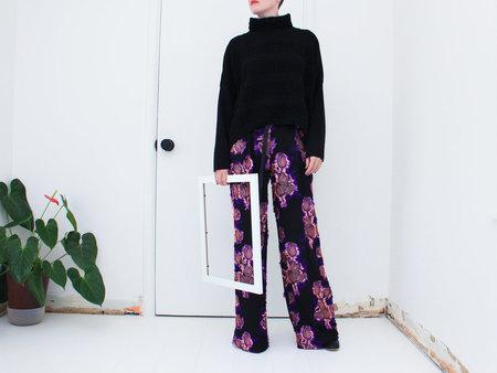 Of Her Own Kind Dylan Pant - Black Floral