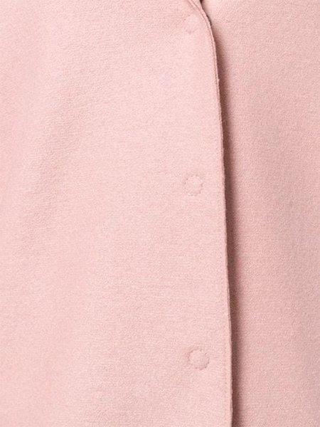 Harris Wharf Cocoon Coat - Blush