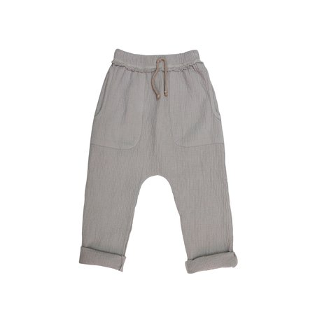 KIDS nico nico Hall Quilted Harem Pant - Granite